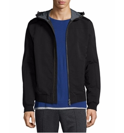 Vince - Highline Scuba Zip-Up Hoodie