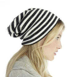 Sole Society - Stripe Beanie