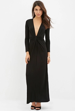 Forever 21 - Twist-Front Maxi Dress