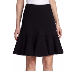 Akris Punto  - Essentials Jersey Flippy Skirt