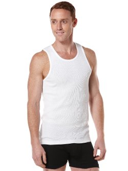 Perry Ellis  - Ribbed Tank Top