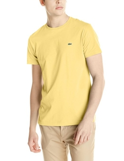 Lacoste - Short Sleeve Jersey Pima Crew Neck T-Shirt