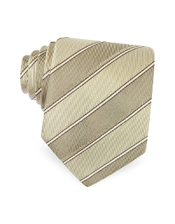 Fendi - Diagonal Stripe Signature Silk Tie