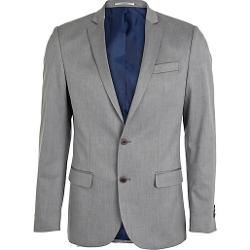 River Island - Light Grey Slim Suit Jacket