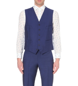 Richard James - Satin-Back Single-Breasted Waistcoat