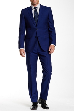 Hugo Hugo Boss  - Aeron Hamen Two Button Notch Lapel Wool Suit