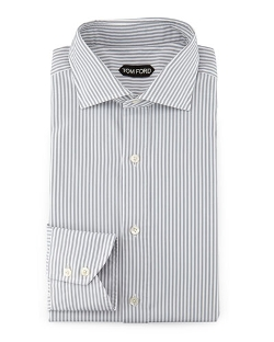 Tom Ford - Striped Button-Down Dress Shirt