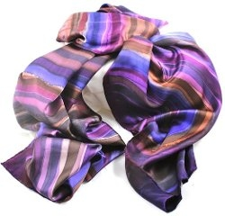 Skov Silk - Hand Painted Scarf