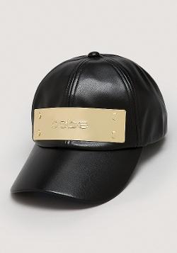 Bebe - Logo Plate Baseball Cap