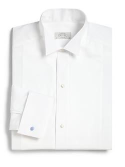 ETON OF SWEDEN  - Contemporary-Fit Tonal Stripe Dress Shirt