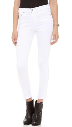 Citizens of Humanity  - Crop Rocket High Rise Skinny Jeans