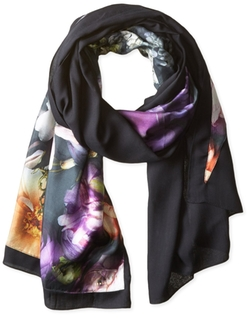 Ted Baker London - Preata Shadow Floral Split Scarf