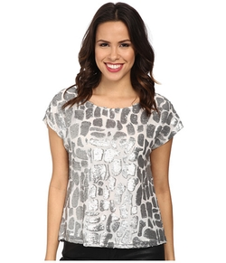 Vince Camuto - Geo Sequins Blouse