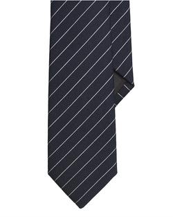Ralph Lauren - Striped Wool Silk Narrow Tie