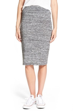 Stem - Space Dye Knit Pencil Skirt