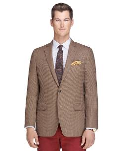 Brooks Brothers - Fitzgerald Fit Tic with Green Deco Sport Coat