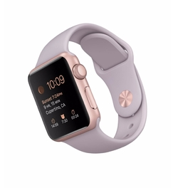 Apple - Sport Aluminum Case With Lavender Band Watch