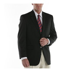 Chaps - Wool-Blend Blazer
