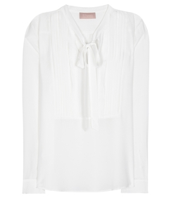 81hours - Sweet Bow Silk Blouse