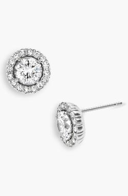 Nadri  - Round Cubic Zirconia Stud Earrings