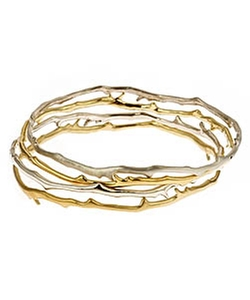 Meredith Hahn - Coral Branch Drea Bangle Bracelet