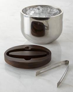 Nambe  - Espresso Mikko Ice Bucket