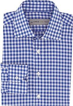 Etro - Gingham Check Dress Shirt