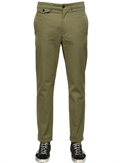 Golden Goose Deluxe Brand  - Cotton Canvas Chino Trousers