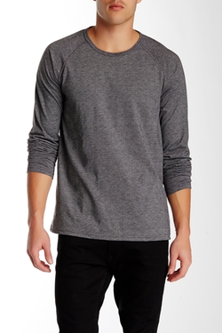 Public Opinion  - Long Raglan Sleeve Tee