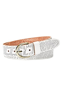 Fossil  - Perforated Leather Belt