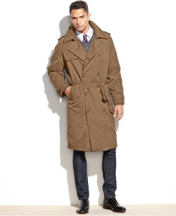 London Fog  - Iconic Belted Trench Raincoat