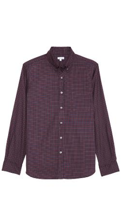 Steven Alan  - Check Classic Collegiate Shirt