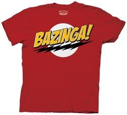The Big Bang Theory - Bazinga! Adult T-Shirt
