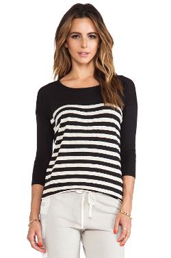 Revolve - Stripes 3/4 Sleeve Tunic