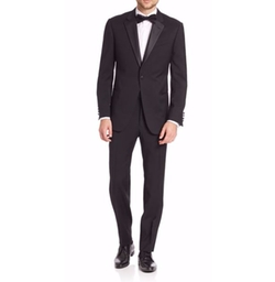 Armani Collezioni - Basic Notch Lapel Tuxedo Suit