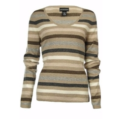 Sutton Studio - Cashmere Stripe Sweater