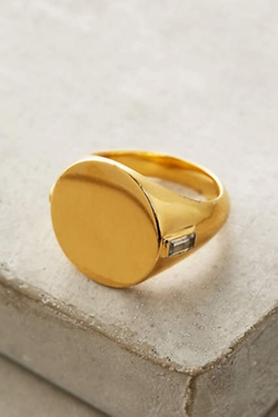 Elizabeth And James - Serra Signet Ring