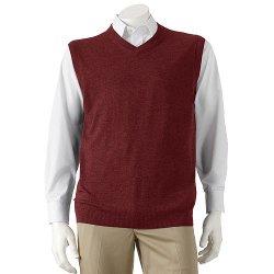 Croft & Barrow - V-Neck Sweater Vest