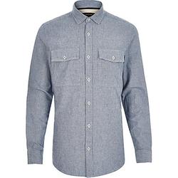 River Island - Stripe Double Pocket Shirt