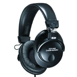 Audio-Technica  - Professional Studio Monitor Closed-back Dynamic Stereo Headphones