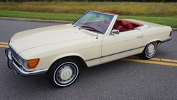 Mercedes-Benz  - 1973 450sl R107 Roadster Coupe