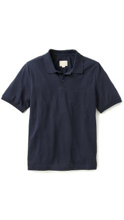 Band of Outsiders  - Trap Pocket Polo Shirt