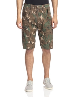 French Connection  - Painted Camouflage Short