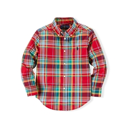 Ralph Lauren - Blake Plaid Cotton Shirt