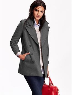 Old Navy - Long Classic Pea Coat