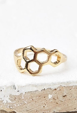 Forever 21 - Asymmetric Geo Cutout Ring