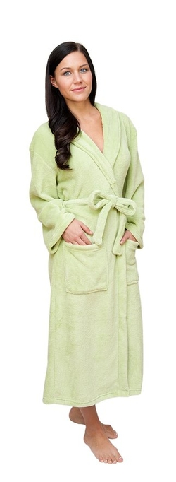 Wrapped In A Cloud - Plush Spa Bathrobe
