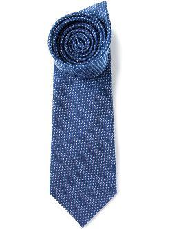 Fendi  - Logo Jacquard Tie