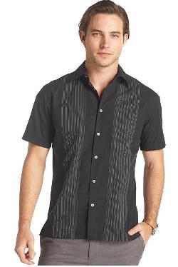 Van Heusen  - Paneled Morrocco Shirt