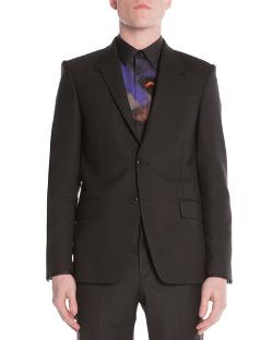 Givenchy   - Stretch-Wool Print-Lined Suit Jacket